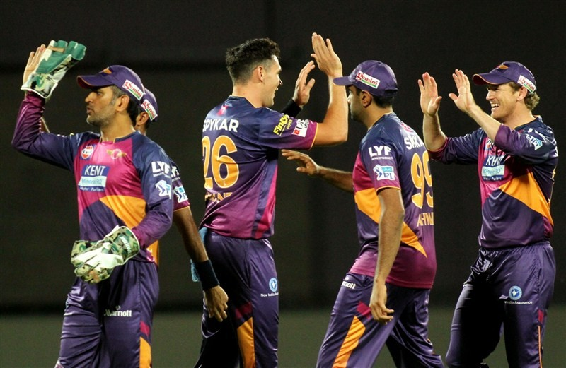 Riding on opener Ajinkya Rahane's fifth half-century of the tournament, Rising Pune Supergiants beat Delhi Daredevils by seven wickets in a league match of the Indian Premier League (IPL) at the Ferozeshah Kotla Stadium on Friday.