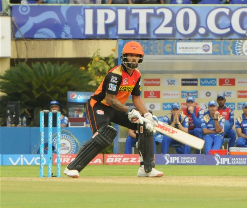 Sunrisers Hyderabad trash Mumbai Indians,Sunrisers Hyderabad beat Mumbai Indians,Sunrisers Hyderabad,Mumbai Indians,Shikhar Dhawan,Indian Premier League,Indian Premier League 2016,Indian Premier League 9,IPL 2016