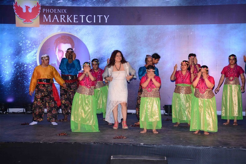Actor Govinda and Sandip Soparrkar at Opening ceremony of 3rd India Dance Week.