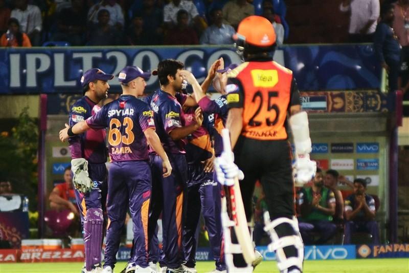 Hyderabad stun Pune by 4 runs,Sunrisers Hyderabad vs Rising Pune Supergiants,Sunrisers Hyderabad beat Rising Pune Supergiants,Sunrisers Hyderabad trash Rising Pune Supergiants,Sunrisers Hyderabad,Rising Pune Supergiants,Indian Premier League,Indian Premie