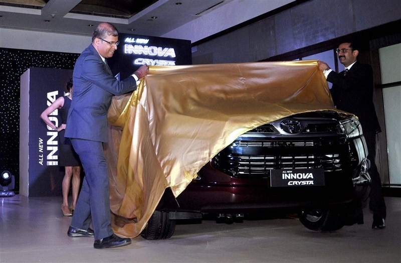 Toyota launches Innova Crysta pan India,Innova Crysta pan India,Innova Crysta,Toyota Kirloskar,Toyota Kirloskar Motor,Innova Crysta pics,Innova Crysta images,Innova Crysta photos,Innova Crysta stills,Innova Crysta pictures