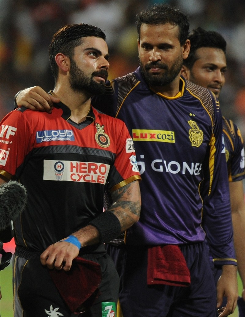 Virat Kohli,A.B. de Villiers,Virat Kohli and A.B. de Villiers,RCB win by 9 wickets against KKR,Royal Challengers Bangalore,Kolkata Knight Riders,IPL 2016,IPL pics,IPL images,IPL photos,IPL stills,IPL pictures,Indian Premier League,Indian Premier League 20