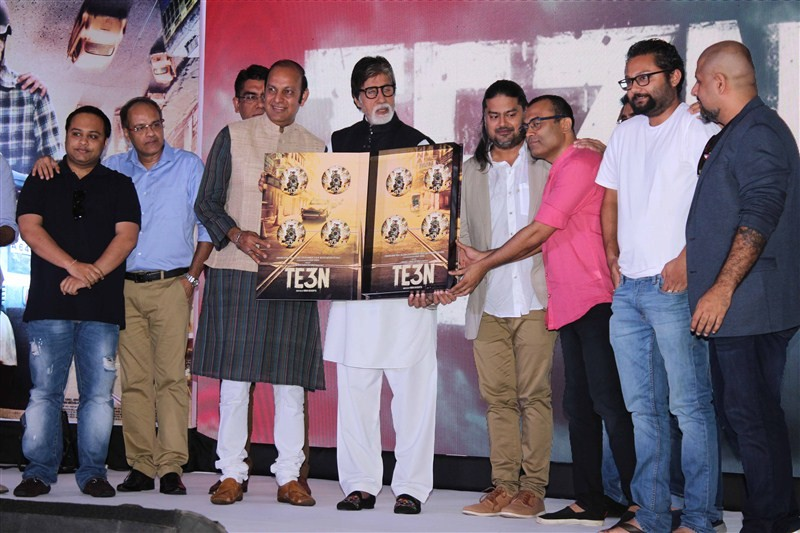 TE3N Audio Launch,TE3N,Amitabh Bachchan,Vishal,Bollywood movie TE3N,TE3N Audio Launch pics,TE3N Audio Launch images,TE3N Audio Launch photos,TE3N Audio Launch stills,TE3N Audio Launch pictures