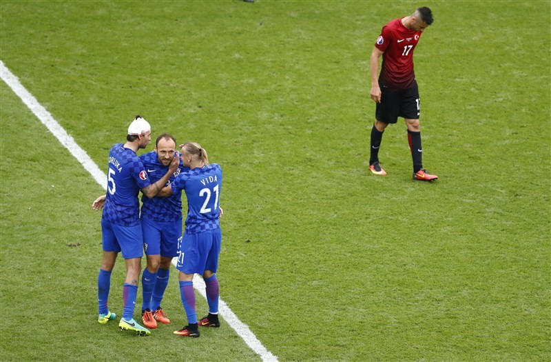 Turkey v Croatia,Euro 2016,Croatia,Euro football championship,Euro football,Luka Modric,Euro 2016 pics,Euro 2016 images,Euro 2016 photos,Euro 2016 pictures,Euro 2016 stills