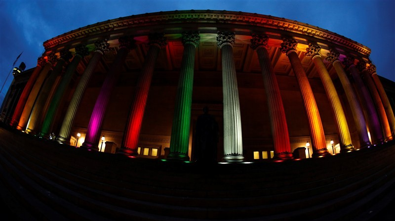 Tribute to Orlando Victims,Orlando Victims,Orlando shooting,Rainbow lights,Rainbow Colors,world Light Up in Rainbow Colors