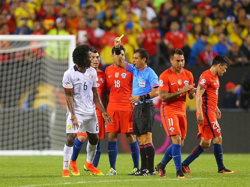 Chile beat Colombia,Copa America final,Chile beat Colombia to enter Copa America final,Defending champions,Copa America Centenario,Mexico