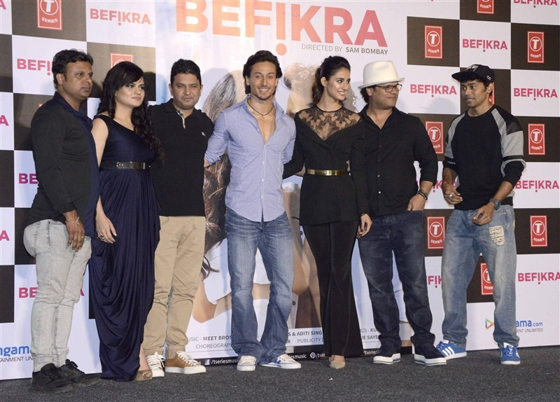 Befikra Song launch,Tiger Shroff,Disha Patani,Tiger Shroff at Befikra Song launch,Disha Patani at Befikra Song launch,Befikra,Bollywood movie Befikra,Befikra Song launch pics,Befikra Song launch images,Befikra Song launch photos,Befikra Song launch stills