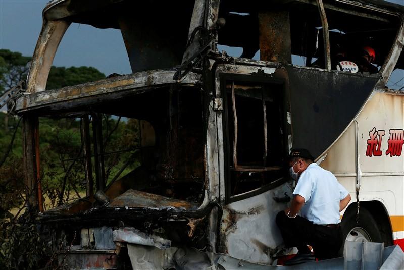 26 Chinese tourists,Taiwan bus fire,Taiwan bus accident,Taiwan,taiwan bus accident death toll,Taiwan bus crash,Chinese passengers