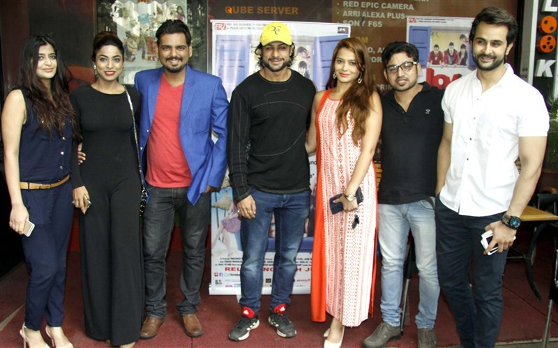 Love Ke Funday Special Screening,Love Ke Funday,Shaleen Bhanot,Rishank Tiwari,Harshvardhan Joshi,Ritika Gulati,Samiksha Bhatnagar,Sufi Gulati,Love Ke Funday Special Screening pics,Love Ke Funday Special Screening images,Love Ke Funday Special Screening ph