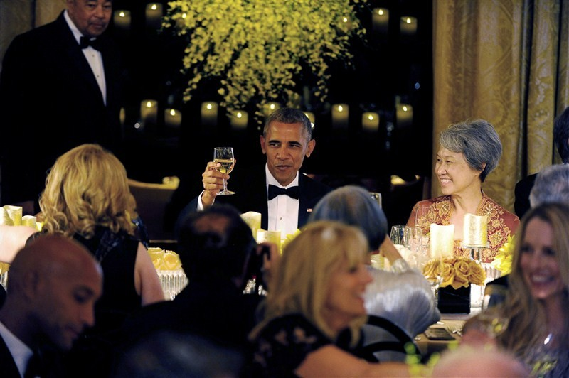 President Obama,Barack Obama,US President Barack Obama,Dinner at White House,PM Lee,Singapore Prime Minister Lee Hsien Loong,Lee Hsien Loong,State Dinner at White House
