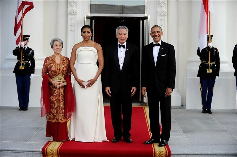 President Obama,Barack Obama,US President Barack Obama,Dinner at White House,PM Lee,Singapore Prime Minister Lee Hsien Loong,Lee Hsien Loong,State Dinner at White House