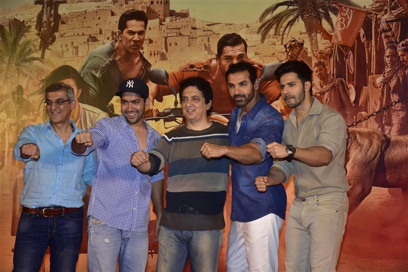 Dishoom success meet,Dishoom success pressmeet,Dishoom celebration,John Abraham,Varun Dhawan,Dishoom success meet pics,Dishoom success meet images,Dishoom success meet photos,Dishoom success meet stills,Dishoom success meet pictures