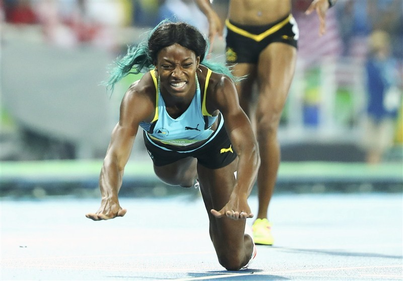 Shaunae Miller,Shaunae Miller dives for 400m gold,Shaunae Miller 400m gold,Shaunae Miller gets gold,Olympic 400 meters gold medal,gold medal,Rio Olympics 2016,Rio Olympics winner
