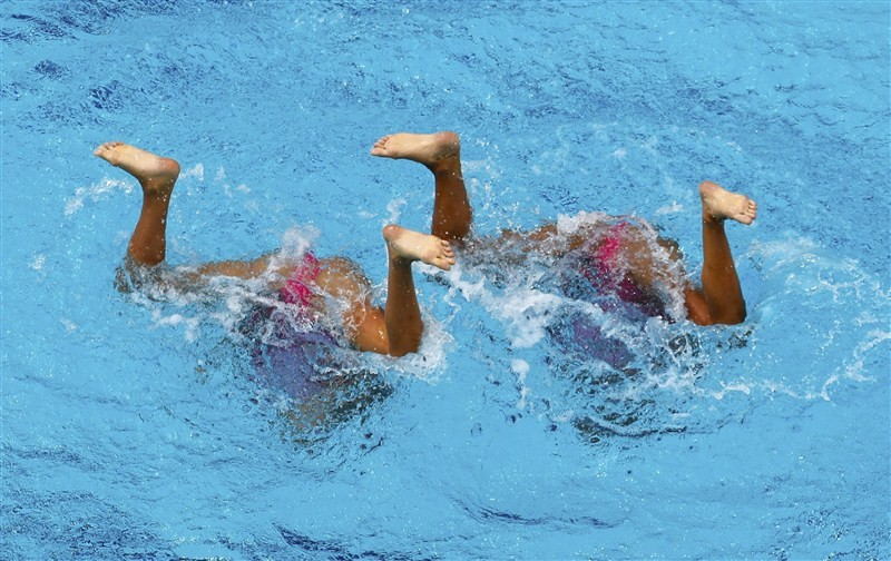 Dancing beneath the water,swimmers,water surface,Under Water Dancing,Rio Olympics 2016,Rio Olympics,Rio Olympics pics,Rio Olympics images,Rio Olympics photos,Rio Olympics stills,Rio Olympics pictures