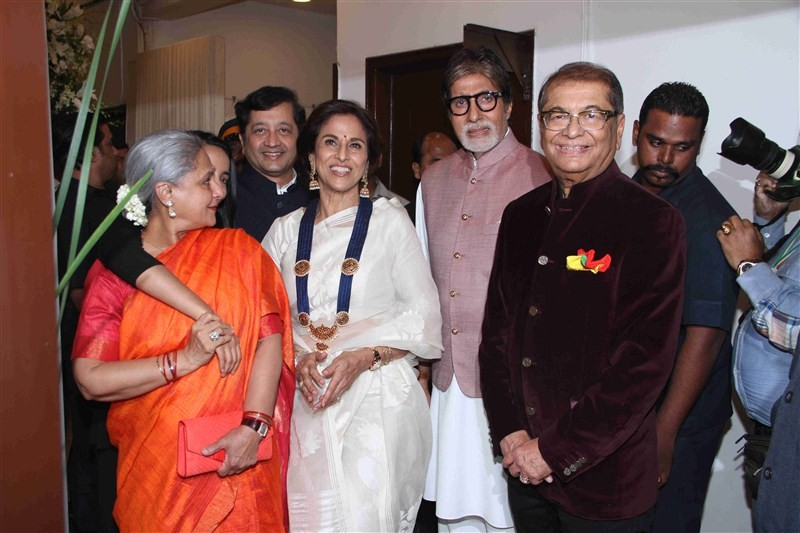 Amitabh Bachchan,Amitabh Bachchan launches Dilip De's digital art exhibition,Jaya Bachchan,Amitabh Bachchan and Jaya Bachchan,Amitabh Bachchan wife Jaya Bachchan,Dilip De's digital art exhibition,Celebration Of Love