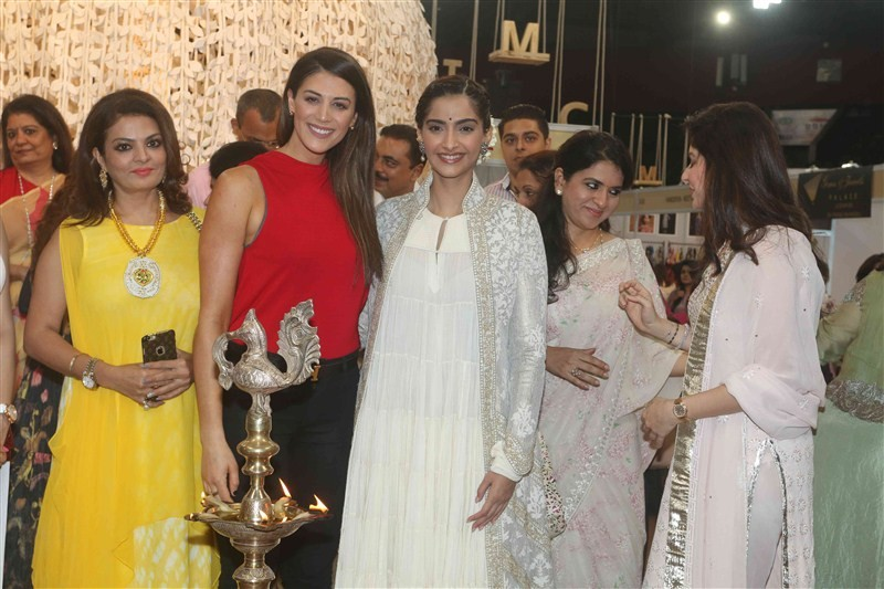 IMC Ladies' Wing,IMC Ladies,Women Entrepreneur Exhibition 2016,Sonam Kapoor,Stephanie Rice,Kanika Kapoor,Sheeba,Bhagyashree,Shaina NC,Madhu Shah,Aalia Ebrahim,Pooja Bedi,Sulaiman Merchant