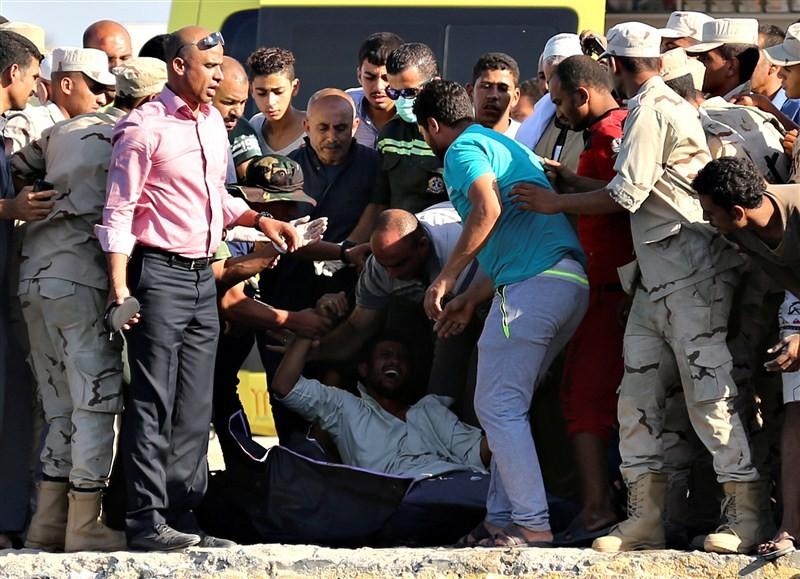 Teeming migrant,boat sinks off Egypt,boat sinks in Egypt,Mediterranean Sea,migrants desperate,disaster,Egypt migrant shipwreck,Teeming migrant boat sinks,migrant boat sinks