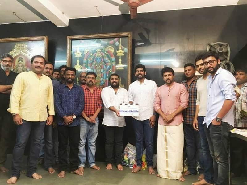 Suriya,Vignesh Sivan,Thaana Serntha Koottam movie launch,Thaana Serntha Koottam,Thaana Serntha Koottam movie pooja,Thaana Serntha Koottam movie launch pics,Thaana Serntha Koottam movie launch images,Thaana Serntha Koottam movie launch photos,Thaana Sernth