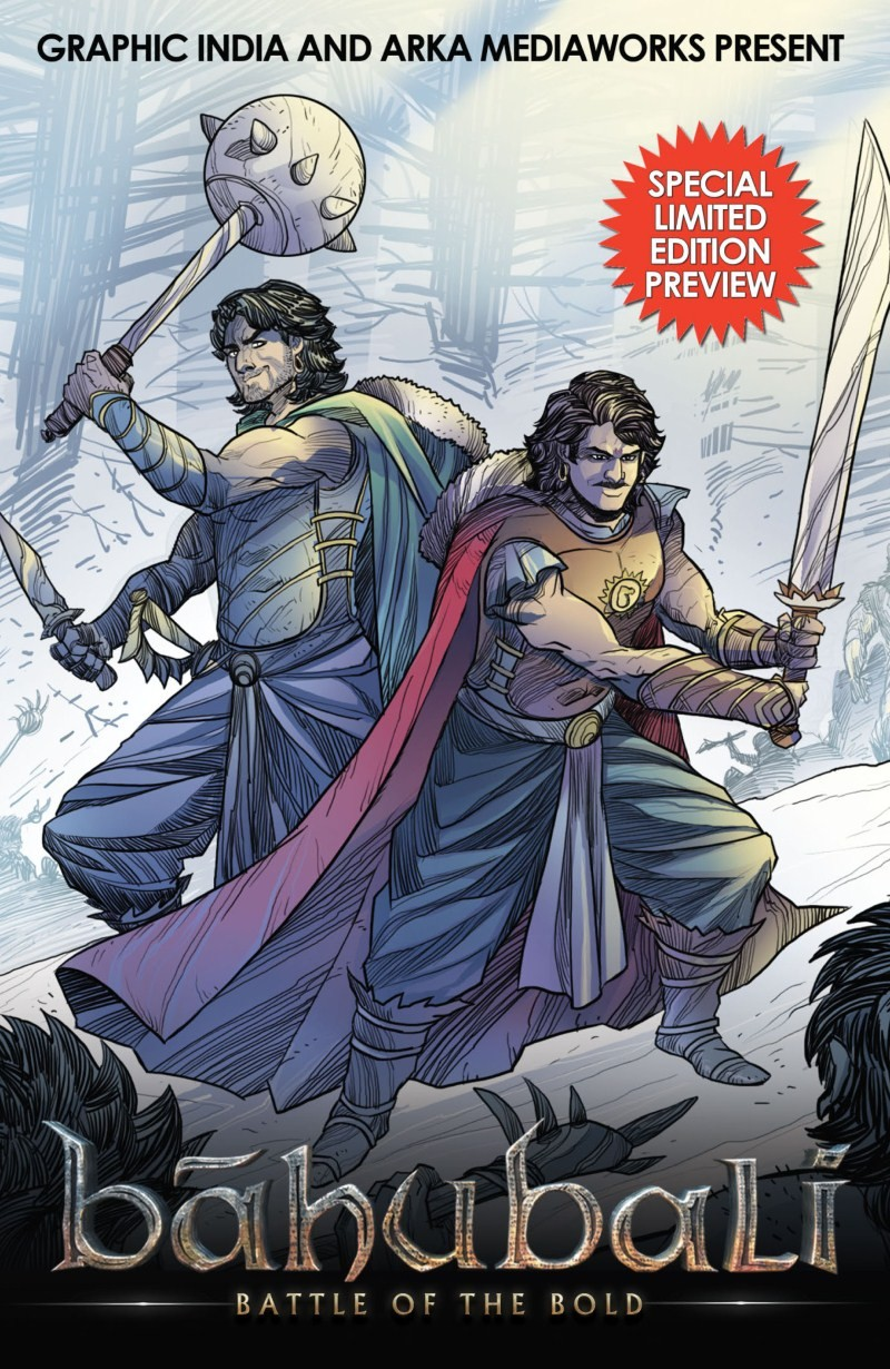 Baahubali - Battle of the Bold,Baahubali,Baahubali 2,Baahubali Comic Book Cover,Baahubali Comic Book pics,Baahubali Comic Book images,Baahubali Comic Book photos,Baahubali Comic Book stills,Baahubali Comic Book pictures