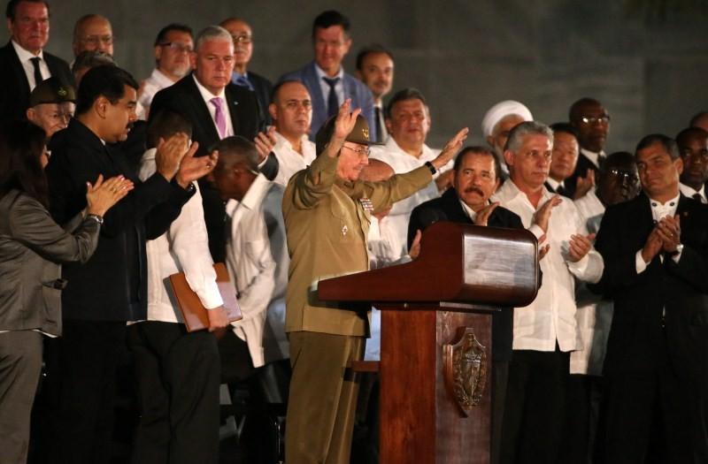 Havana,tribute to Fidel,Raul Castro,Fidel Castro,tribute to Fidel Castro