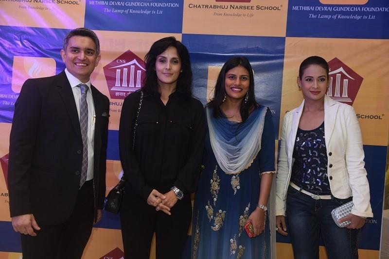 Sujay Jairaj,Tulip Joshi,Minal Thacker,Preeti Jhangiani,Chatrabhuj Narsee School,Chatrabhuj Narsee School launch