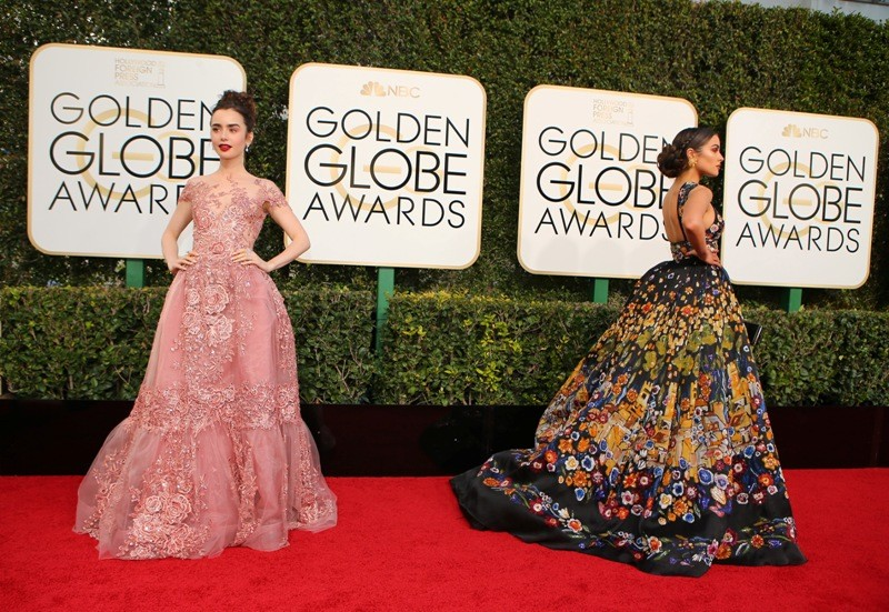 Golden Globe Awards,Golden Globe Awards 2017,Golden Globe Awards red carpet,Golden Globe Awards 2017 red carpet,Emma Stone,Viola Davis,Blake Lively,Amy Adams,Mandy Moore