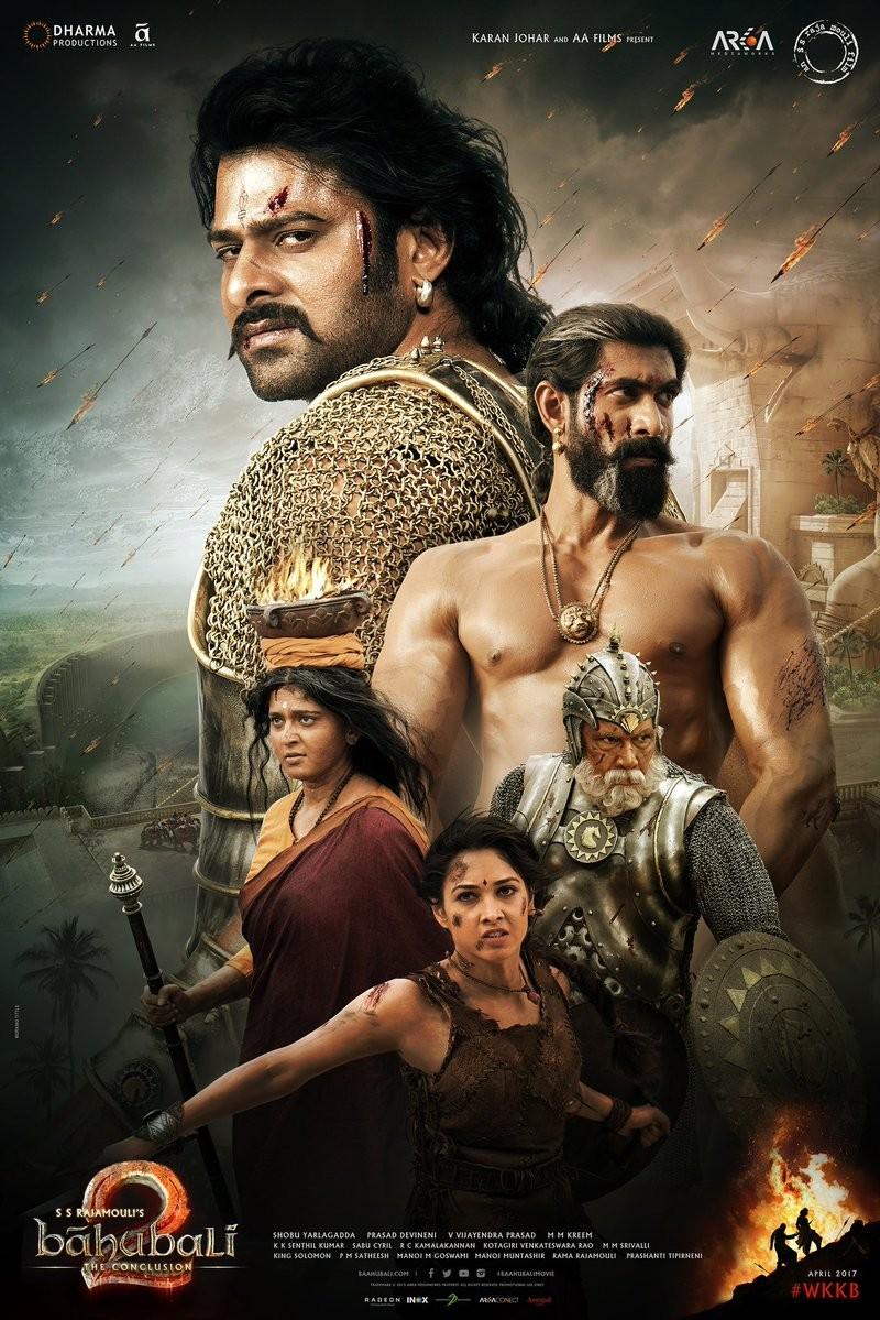 Prabhas,Anushka Shetty,Baahubali 2 poster,Baahubali 2,Baahubali,Baahubali The Conclusion,SS Rajamouli,Republic Day