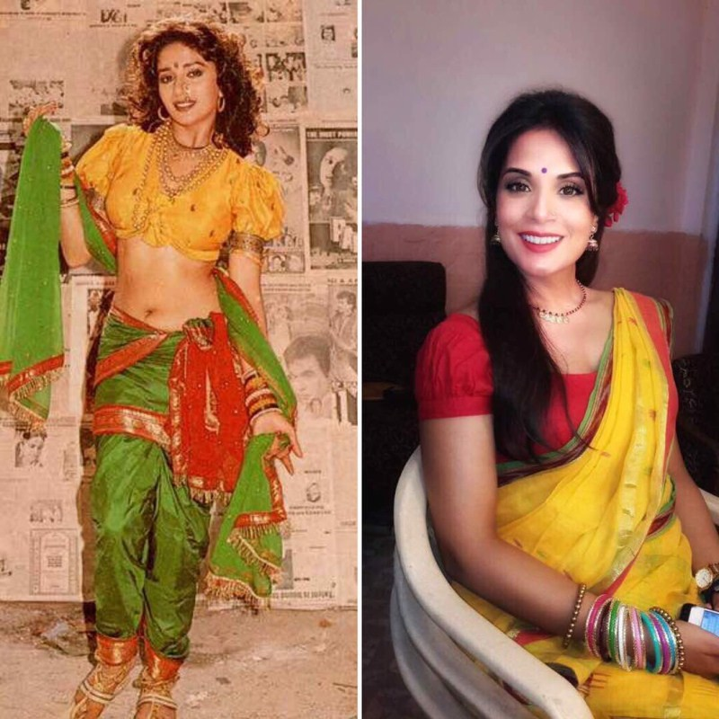 Richa Chadha,Madhuri Dixit,Richa Chadha look like Madhuri Dixit,3 Storeys,Richa Chadha new look,Richa Chadha look