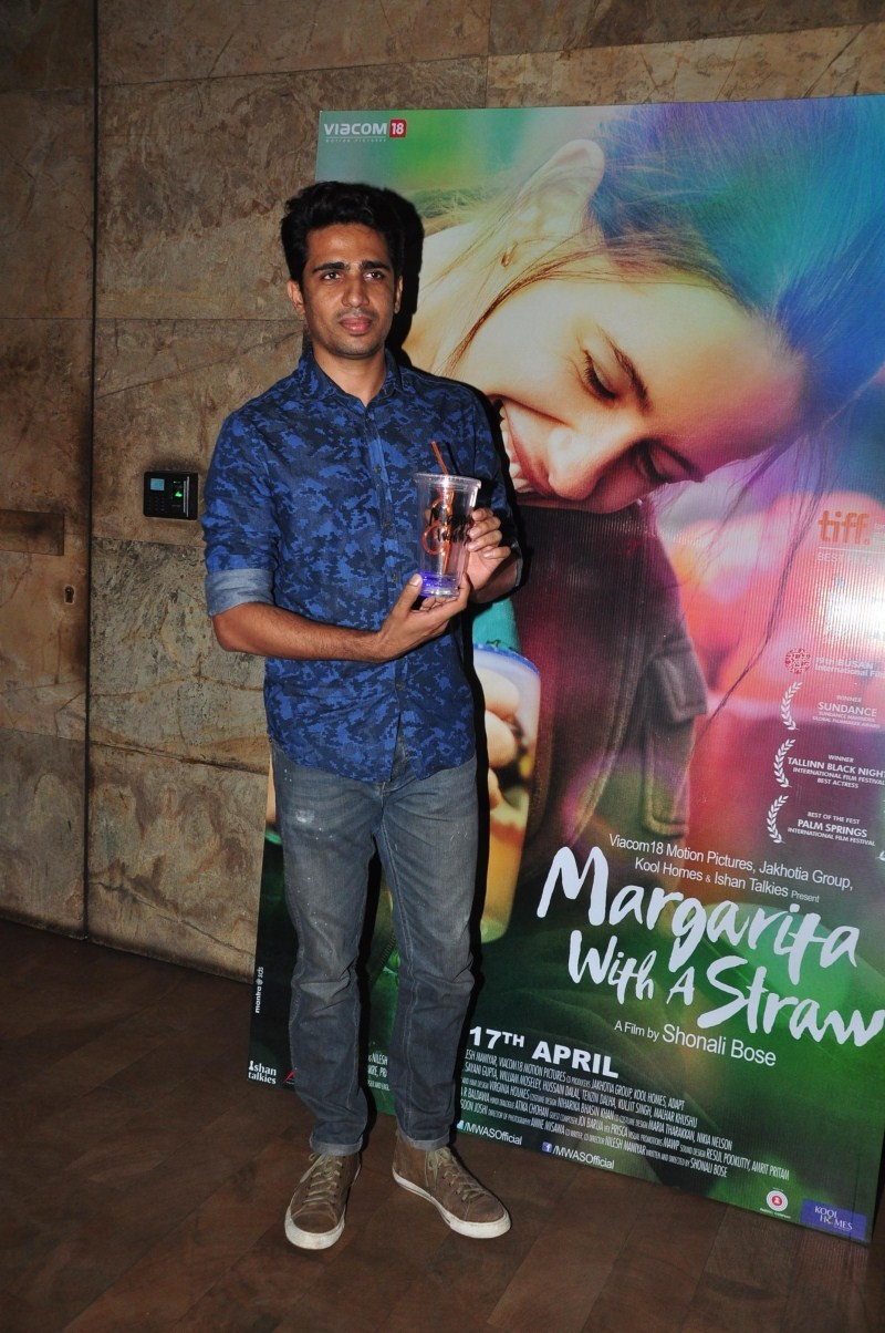 Special Screening of Margarita With A Straw,Margarita With A Straw,Nikhil Advani,Gulshan Devaiah,Radhika Apte,Aditi Rao Hydari,Vinay Pathak,Ranvir Shorey,Farah Khan,bollywood movie Margarita With A Straw