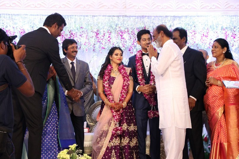 Rajinikanth,Sivakumar,Vairamuthu,Natty Natraj,Aishwarya wedding reception,Aishwarya Reddy wedding reception,Aishwarya Reddy wedding reception pics,Aishwarya Reddy wedding reception images,Aishwarya Reddy wedding reception stills,Aishwarya Reddy wedding re