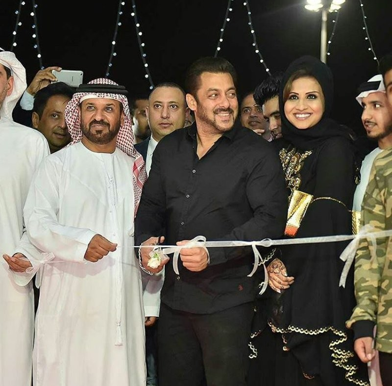 Salman Khan,actor Salman Khan,Belhasa Driving centre,Salman Khan inaugurates Belhasa Driving centre