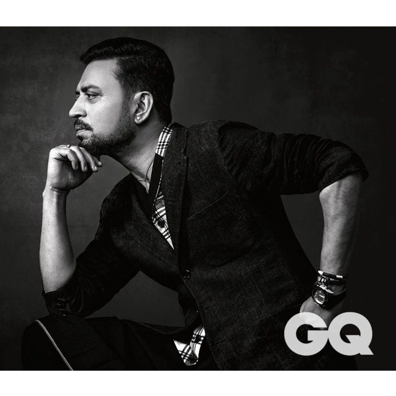 Irrfan Khan,actor Irrfan Khan,Irrfan Khan on GQ magazine shoot,GQ magazine shoot,Qareeb Qareeb
