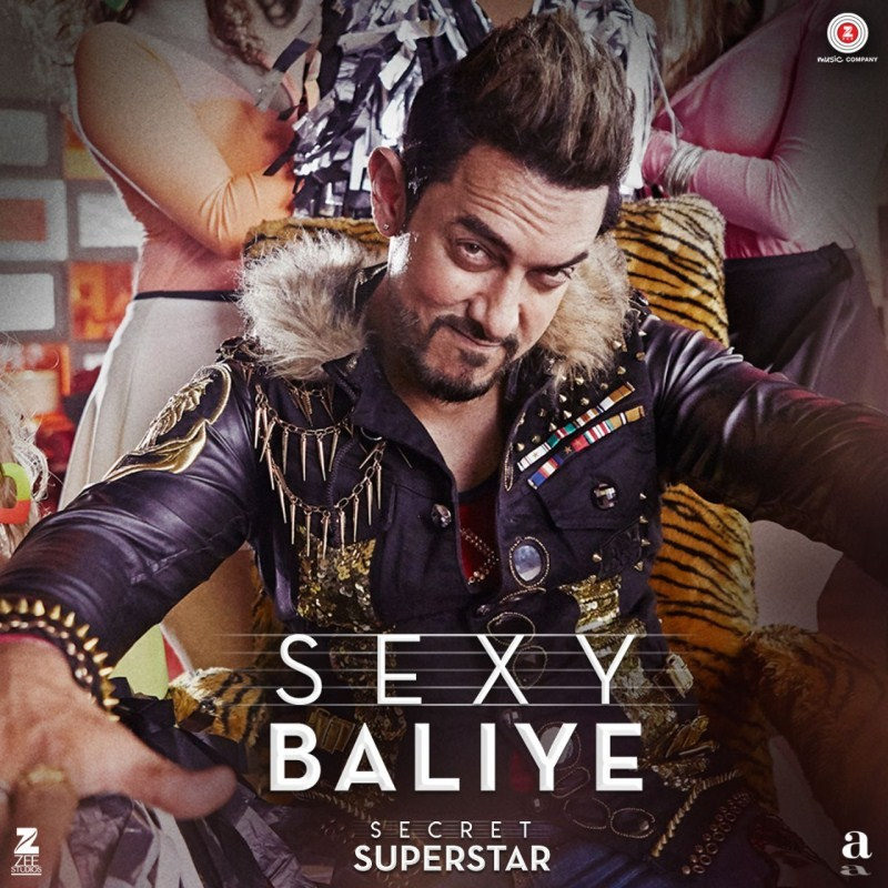 Secret Superstar,Aamir Khan,Sexy Baliye,Sexy Baliye song,Secret Superstar Sexy Baliye,Secret Superstar songs,Secret Superstar song
