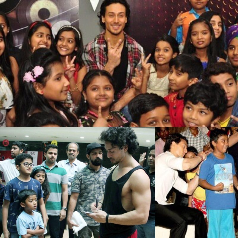 Tiger Shroff,actor Tiger Shroff,Tiger Shroff Autographs,Tiger Shroff selfies