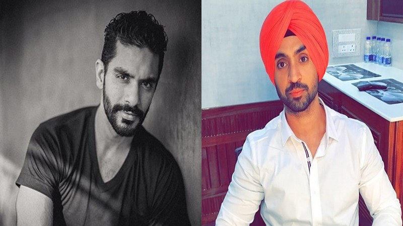 Angad Bedi and Diljit Dosanjh,Angad Bedi,Diljit Dosanjh,Punjab connect between Angad Bedi and Diljit Dosanjh