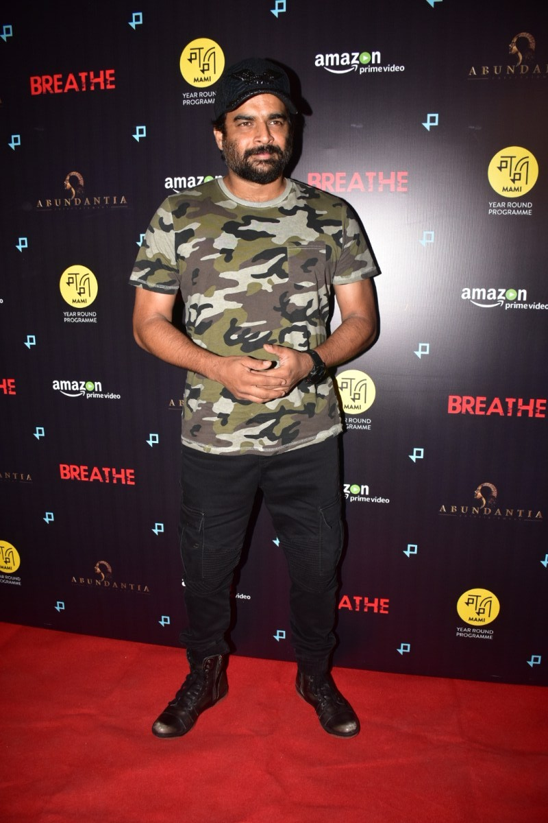 R Madhavan,Anand L Rai,David Dhawan,Breathe,Breathe special screening,Breathe special screening pics,Breathe special screening images,Breathe special screening stills,Breathe special screening pictures,Breathe special screening photos