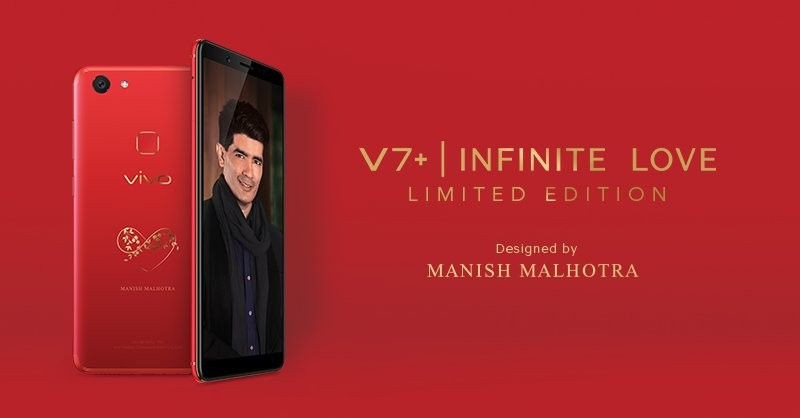 Vivo,Vivo Red V7+,Vivo V7+,V7+,Infinite Red V7+,Manish Malhotra