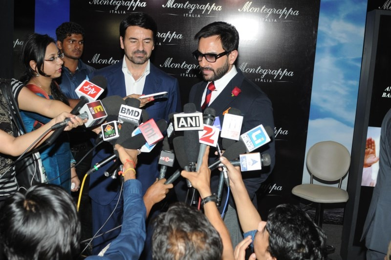 Saif Ali Khan Launches Montegrappa Italy Luxury Brand Watch,Saif Ali Khan,actor Saif Ali Khan,Saif Ali Khan pics,Saif Ali Khan images,Saif Ali Khan photos,Saif Ali Khan stills,Montegrappa Italy Luxury Brand Watch,Montegrappa Italy watch
