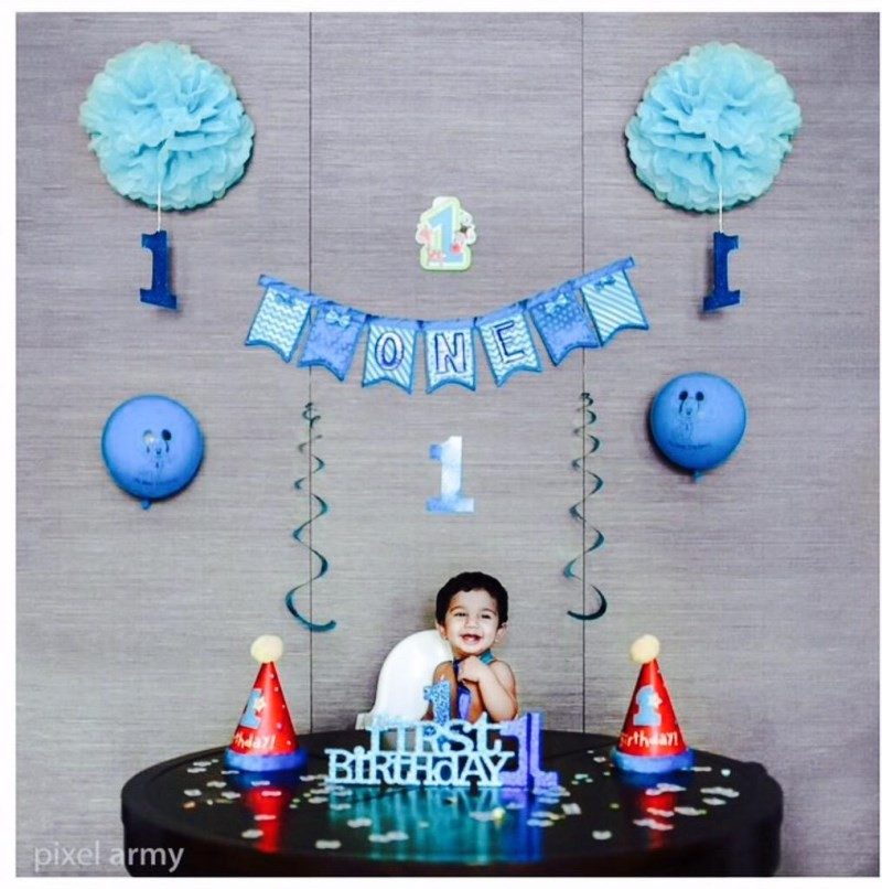 Allu Arjun son Ayaan's 1st birthday Celebration in Singapore,Allu Arjun son Ayaan's,Ayaan's 1st Birthday Celebration,Ayaan's Birthday Celebration,Ayaan's Birthday Celebration photos,Ayaan's Birthday Celebration pics,Allu Arjun son Ayaan pics,Ayaan pics,Ay