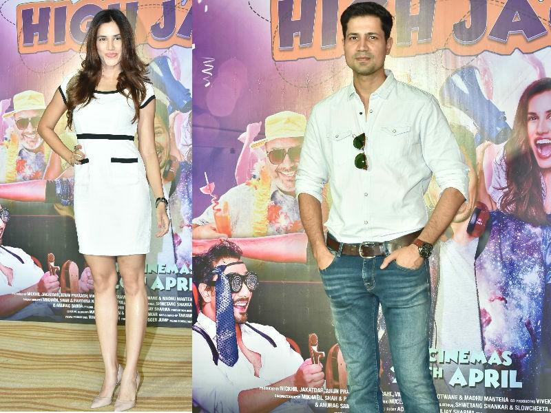 Sumeet Vyas,Sonnalli Seygall,Hi Jack trailer launch,Hi Jack trailer,Hi Jack,Hi Jack trailer launch pics,Hi Jack trailer launch images,Hi Jack pics,Hi Jack images