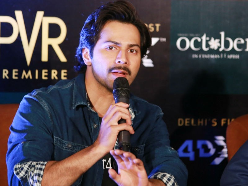 Varun Dhawan,actor Varun Dhawan,Sui Dhaaga,Sui Dhaaga shooting,October song,October movie song,Tab Bhi Tu,Tab Bhi Tu song,Shoojit Sircar