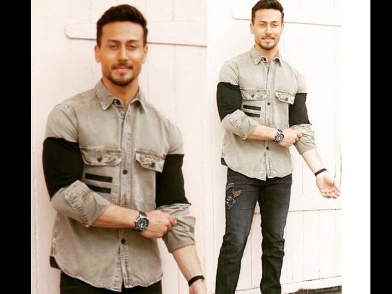 Tiger Shroffs,Tiger Shroffs fashion,Baaghi 2,tiger shroff baaghi 2,Baaghi 2 star,Baaghi 2 actor,Tiger Shroffs casual look