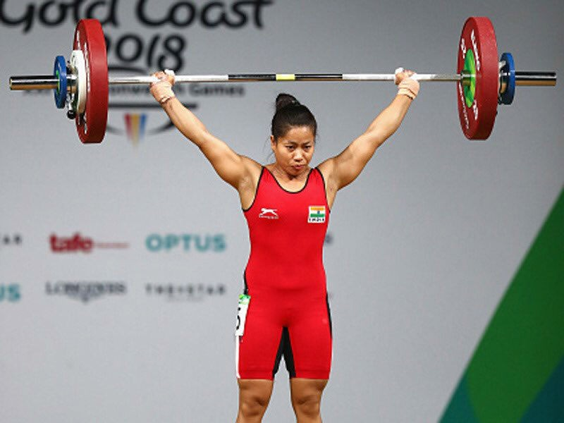 Sanjita Chanu,lifter Sanjita Chanu,Sanjita Chanu  wins gold,Commonwealth Games,Commonwealth Games 2018,21st Commonwealth Games