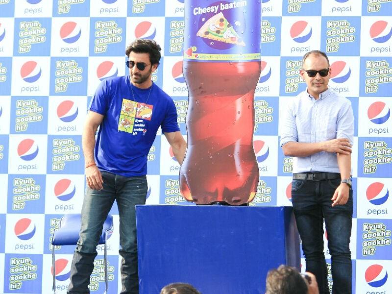 Ranbir Kapoor,Pepsi's Kyun Sookhe Sookhe Hi campaign,Kyun Sookhe Sookhe Hi campaign,Kyun Sookhe Sookhe Hi,Ranbir Kapoor meet fans