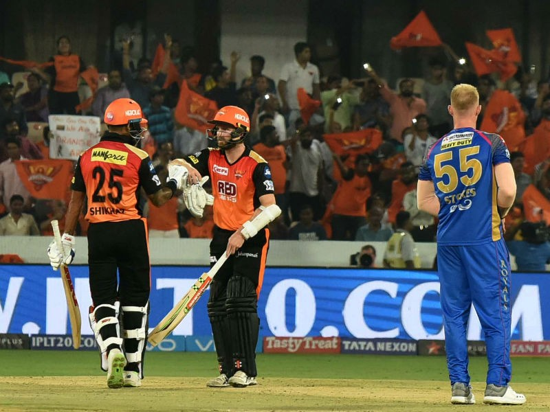 Shikhar Dhawan,IPL 2018,Sunrisers Hyderabad beats Rajasthan Royals,Sunrisers Hyderabad,Rajasthan Royals,Indian Premier League,Indian Premier League 2018