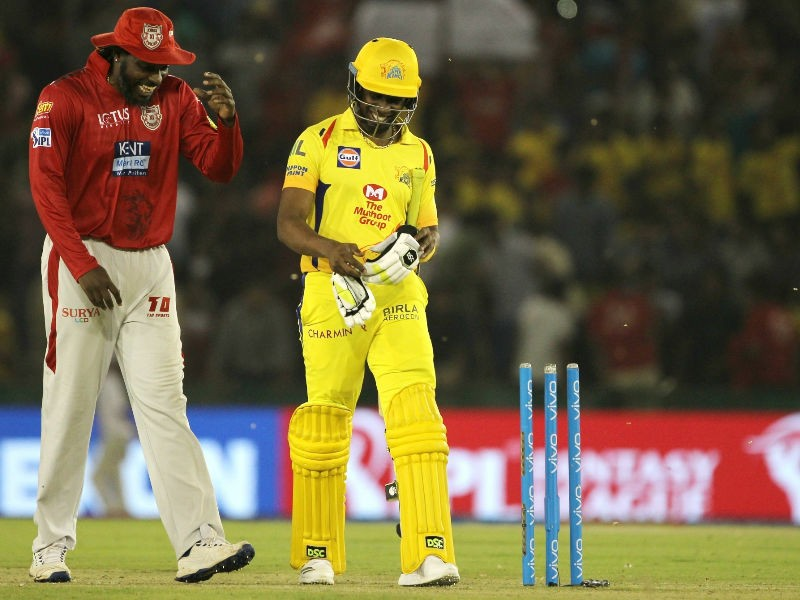 Kings XI Punjab beats Chennai Super Kings,Kings XI Punjab,Chennai Super Kings,Dhoni,MS Dhoni,Chris Gayle,IPL 2018,IPL,Indian Premier League