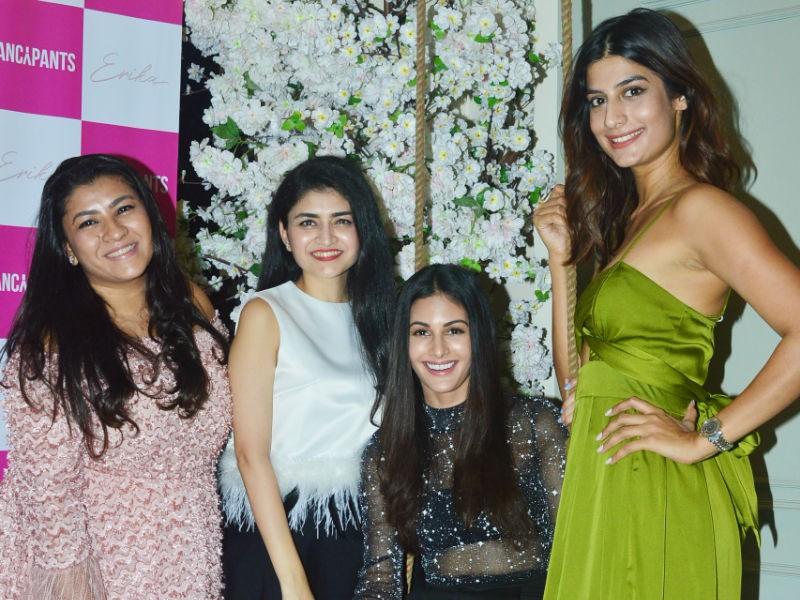Amyra Dastur,Erika Packard,Fancy-Pants parties,Fancy-Pants store,Fancy-Pants parties launch,Fancy-Pants parties store launch,FancyPants store
