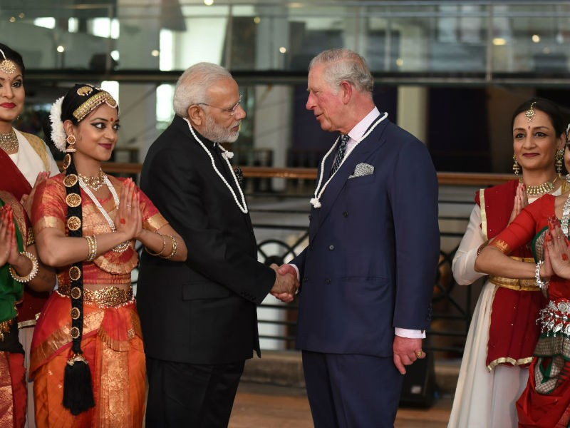 PM Narendra Modi,Narendra Modi,Modi meets Prince Charles,Prince Charles,Modi in London,PM Modi in London