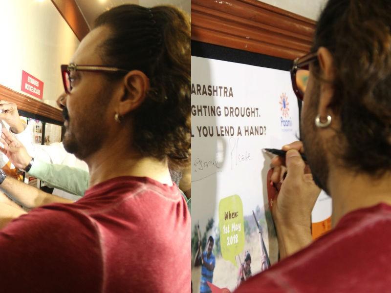 Aamir Khan,actor Aamir Khan,Paani Foundation,Paani Foundation day,Aamir Khan pics,Aamir Khan images