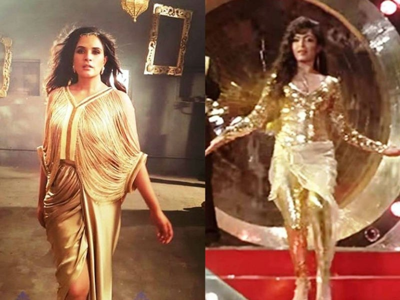 Richa Chadha,actress Richa Chadha,Richa Chadha new look,Richa Chadha inspired by Parveen Babi,Parveen Babi,Jawani Janeman